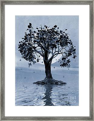The Tree That Wept A Lake Of Tears Framed Print