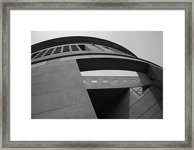Framed Print featuring the photograph The United States Holocaust Memorial Museum by Cora Wandel