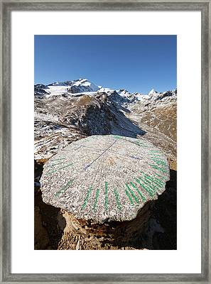 The Upper Valley Martelltal (butzental Framed Print