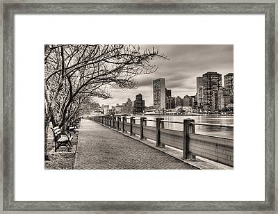 The Walk Framed Print by JC Findley