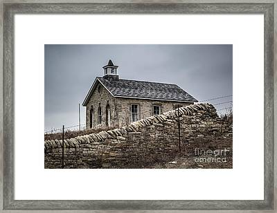 The Wall  Framed Print by Jim McCain