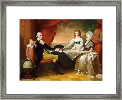 The Washington Family Framed Print by Mountain Dreams