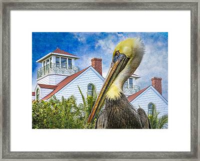 The Watch Framed Print