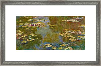 The Water Lily Pond Framed Print