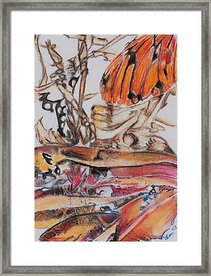 The Way Things Work 6 Framed Print by Sherry Ross