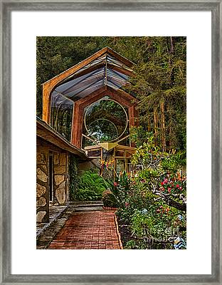 The Wayfarers Chapel Framed Print