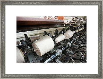 The Weaving Shed Framed Print
