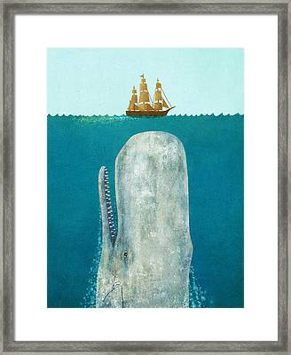 The Whale  Framed Print by Terry  Fan