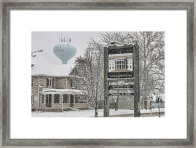 The Whitehouse Inn Sign 7034 Framed Print by Jack Schultz