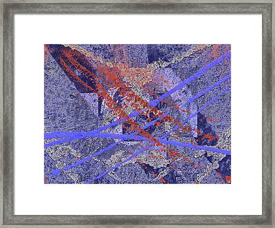 The Writing On The Wall 10 Framed Print by Tim Allen