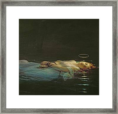 The Young Martyr Framed Print