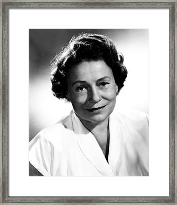 Thelma Ritter, Ca. Mid-1950s Framed Print