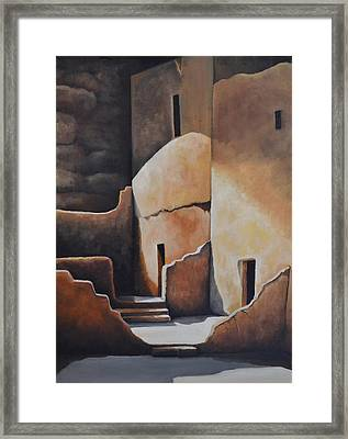 They Were Once Here Framed Print by Martin Schmidt