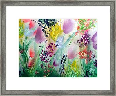 Thinking Of Spring Framed Print