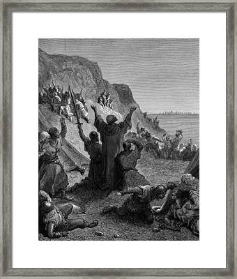 Third Crusade, Siege Of Acre, 1189-91 Framed Print