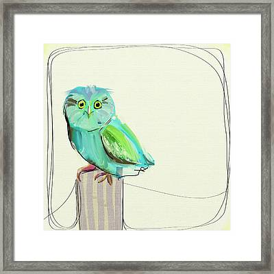 This Little Guy Framed Print by Cathy Walters