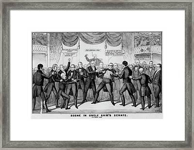 Thomas Hart Benton (1782-1858) Framed Print by Granger