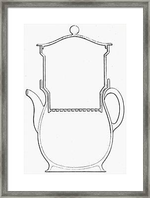 Thompson Drip Coffee Pot Framed Print