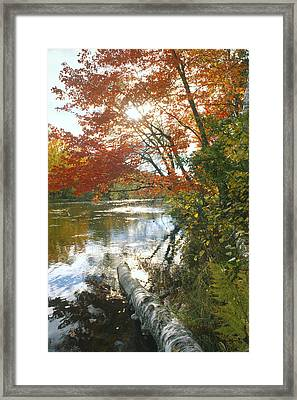Thompson Landing Framed Print by Bruce Thompson
