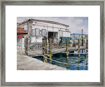 Thompson's Docks  Framed Print
