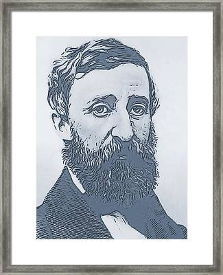 Thoreau Framed Print