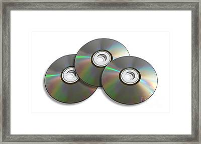 Three Discs Framed Print by Jorgo Photography - Wall Art Gallery