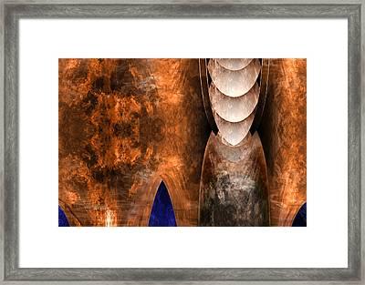 Throneroom Framed Print by Christopher Gaston