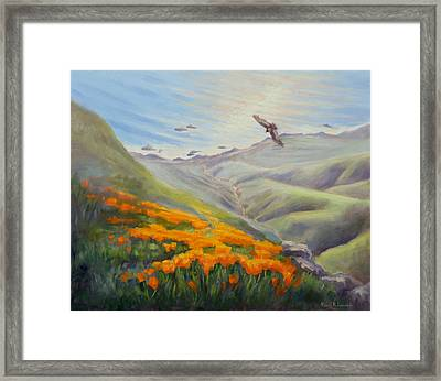 Through The Eyes Of The Condor Framed Print