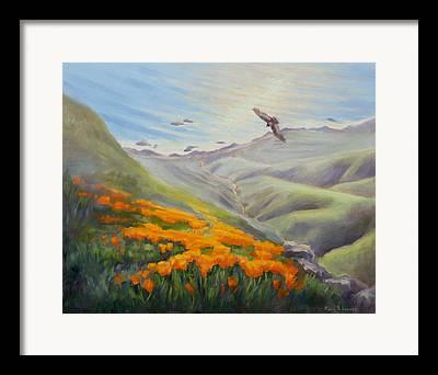 Condor Paintings Framed Prints