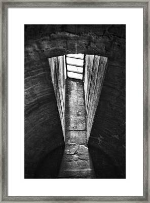 Through The Pane Framed Print by Scott Wyatt