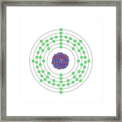 Thulium Framed Print by Science Photo Library