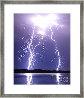 Thunderstruck Framed Print