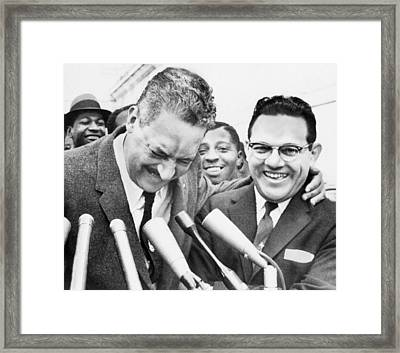 Thurgood Marshall (1908-1993) Framed Print by Granger