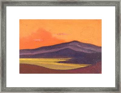 Tibet Framed Print by Nicholas Roerich