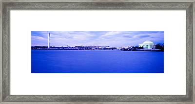 Tidal Basin Washington Dc Framed Print by Panoramic Images