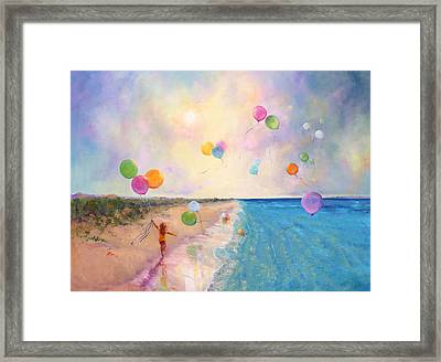 Tide Of Dreams Framed Print by Marie Green