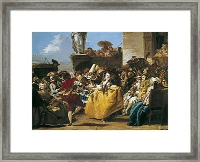 Tiepolo, Giovanni Domenico 1727-1804 Framed Print by Everett