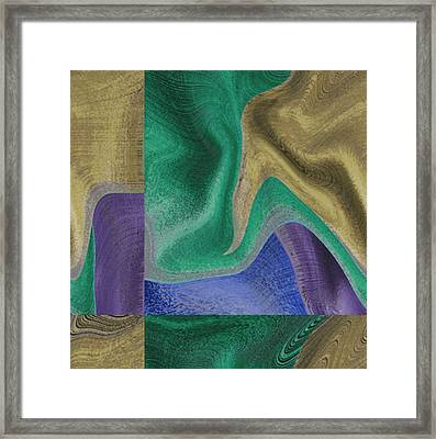 Tiered Framed Print by Yanni Theodorou