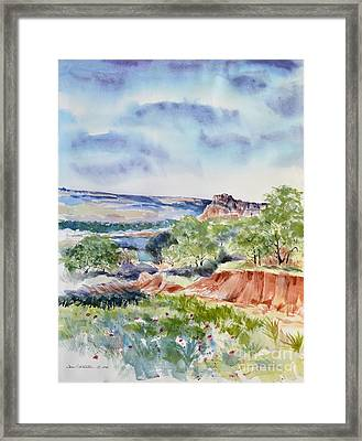 Timbercreek Canyon Framed Print by Joan Hartenstein