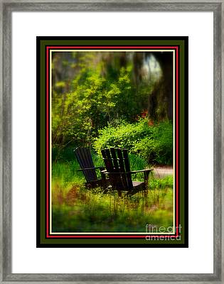 Time For Coffee Framed Print by Susanne Van Hulst