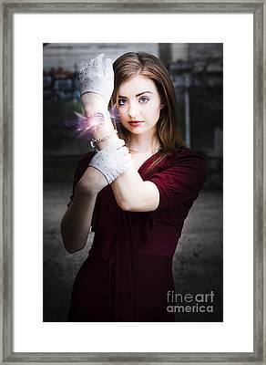Time For Magic Framed Print