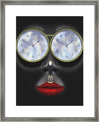 Time In Your Eyes Framed Print by Mike McGlothlen