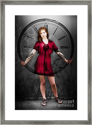 Time Framed Print by Jorgo Photography - Wall Art Gallery