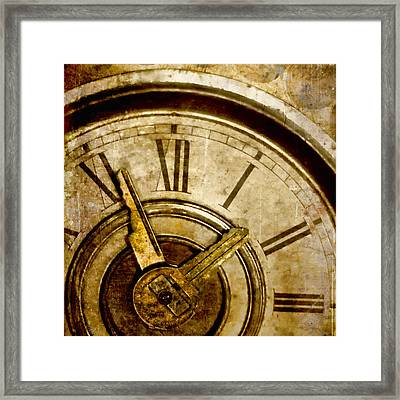 Time Travel Framed Print by Carol Leigh