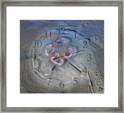 Timing Framed Print by Betsy Knapp