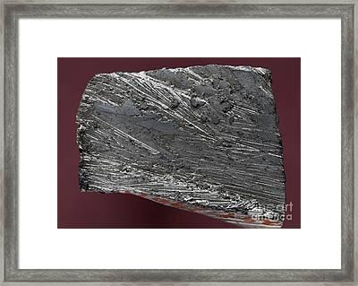 Tin Framed Print by Dirk Wiersma