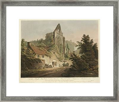 Tintern Abbey Framed Print by British Library