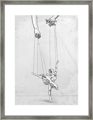 Tiny Dancer Framed Print by H James Hoff