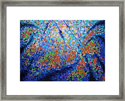 To Make Visible The Invisible Vii  Framed Print