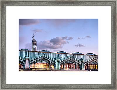 To New York Framed Print by JC Findley